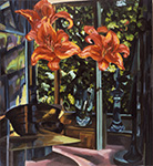 Lilly, light, kitchen 2002